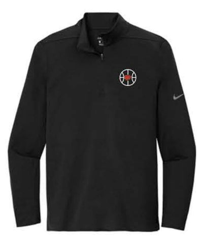 Nike Dry 1/2-Zip Cover-Up - Black