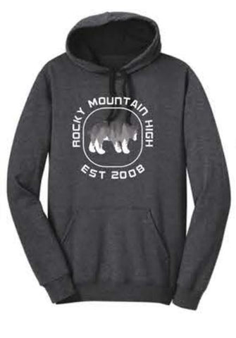 District ® The Concert Fleece ® Hoodie - Heathered Charcoal