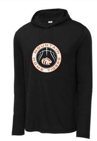 Sport-Tek ® PosiCharge ® Tri-Blend Wicking Long Sleeve Hoodie