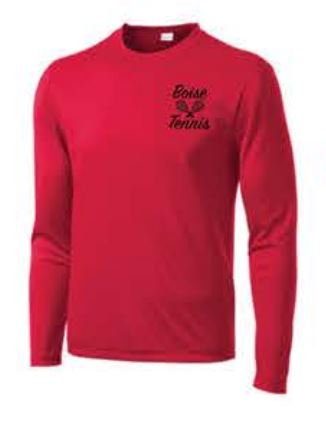 Sport-Tek® Long Sleeve PosiCharge® Competitor™ Tee - Red