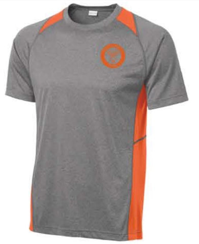 Sport-Tek® Heather Colorblock Contender™ Tee