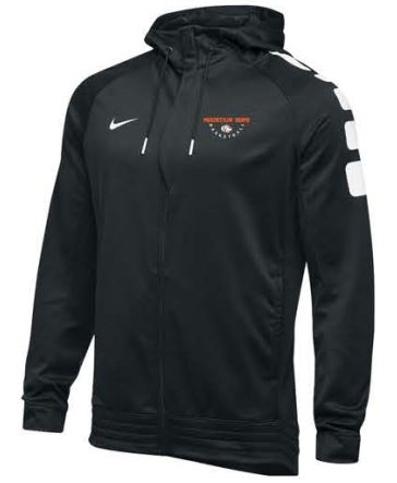 Nike Team Elite Stripe Full Zip Hoodie - Men's