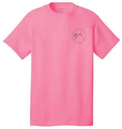Port & Company® - Core Cotton Tee - Neon Pink
