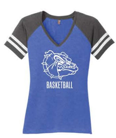 District ® Women's Game V-Neck Tee