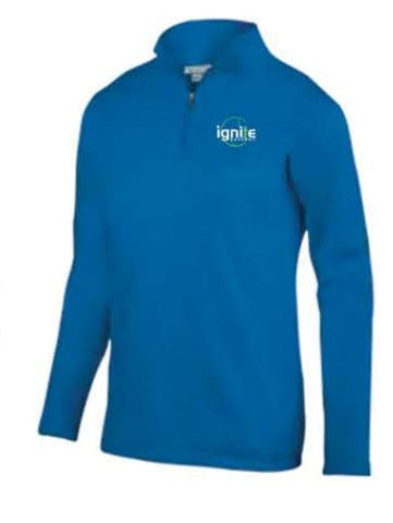 Augusta Sportswear Team Wicking Fleece Pullover - Men's - Royal