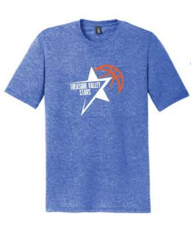 District ® Perfect Tri ® Tee - Royal