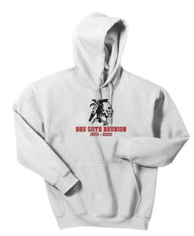 Gildan® - Heavy Blend™ Hooded Sweatshirt - White