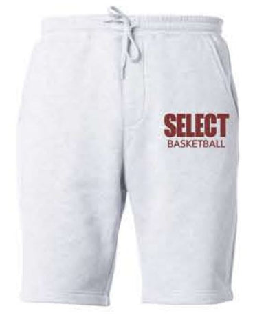 MENS MIDWEIGHT FLEECE SHORT - Grey Heather