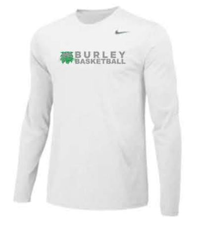 Nike Team Legend Long Sleeve Poly Top - White