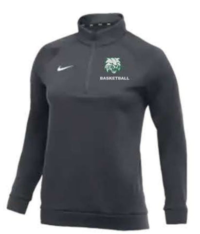 Nike Team Therma 1/4 Zip Top - Women's - Anthracite