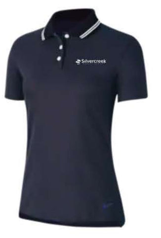 Nike Dry Victory Solid Golf Polo - Women's - Navy