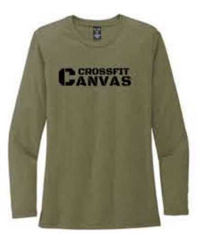Allmade® Women's Tri-Blend Long Sleeve Tee - Olive