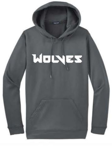 Sport-Tek® Sport-Wick® Fleece Hooded Pullover (Wolves)