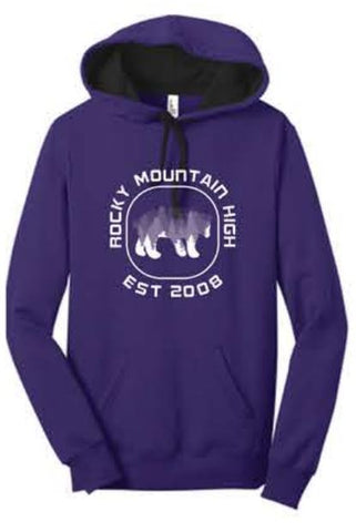 District® - Juniors The Concert Fleece™ Hoodie - Purple