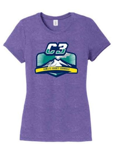 District ® Women's Perfect Tri ® Tee - Purple Frost (M3)