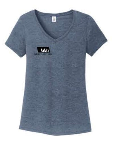 District ® Women's Perfect Tri ® V-Neck Tee - Navy Frost