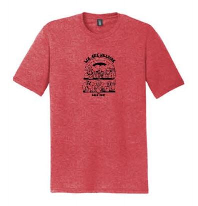 District ® Perfect Tri ® Tee - Red Frost