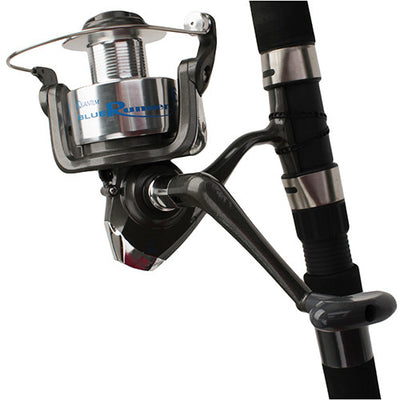 "Blue Runner Spinning Combo 60, 10' 2pc Rod, 4.7""1 Gear Ratio, Medium/Heavy Power, Fast Action. Ambidextrous"
