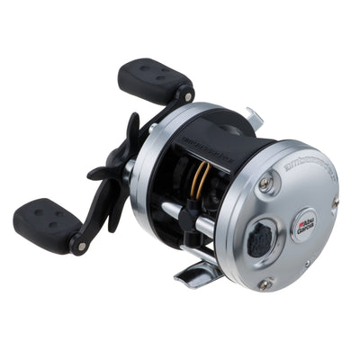 "Ambassadeur C3 Baitcast Round Reel 5500, 5.3:1 Gear Ratio, 4 Bearings, 26"" Retrieve Rate, 15 lb Max Drag, RH"