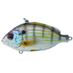 "Pinfish Rattlebait 3"", Number 2 Hook Size, Variable Depth, Natural/Matte"