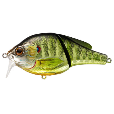 "Pumpkinseed Wakebait 3"", Number 4 Hook Size, 0'-1' Depth, Natural/Metallic/Gloss"