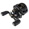 "Pro Max Low Profile Reel 7.1:1 Gear Ratio, 8 Bearings, 29"" Retrieve Rate, 18lb Max Drag, RH, Clam Package"