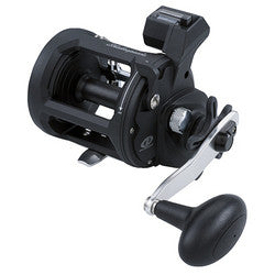 ATS Trolling Reels 30, 6.3:1 Gear Ratio, 2 Bearings, 20 lb Max Drag, Right Hand, Clam Package