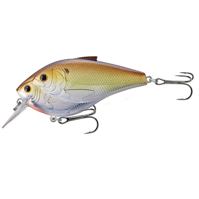 "Threadfin Shad Squarebill 3"" Number 1 Hook Size, 4'-5' Depth, Metallic Olive/Copper"