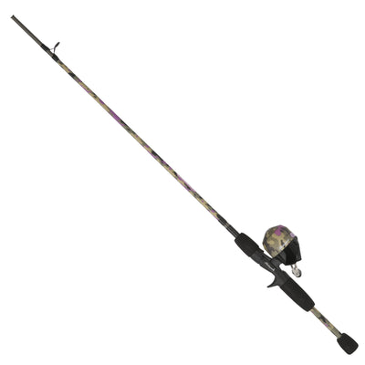 "Lady Recurit Spinning Combo 6 Reel Size, 5'6"" 2pc Rod, 6-12 lb Line Rate, Medium Power"
