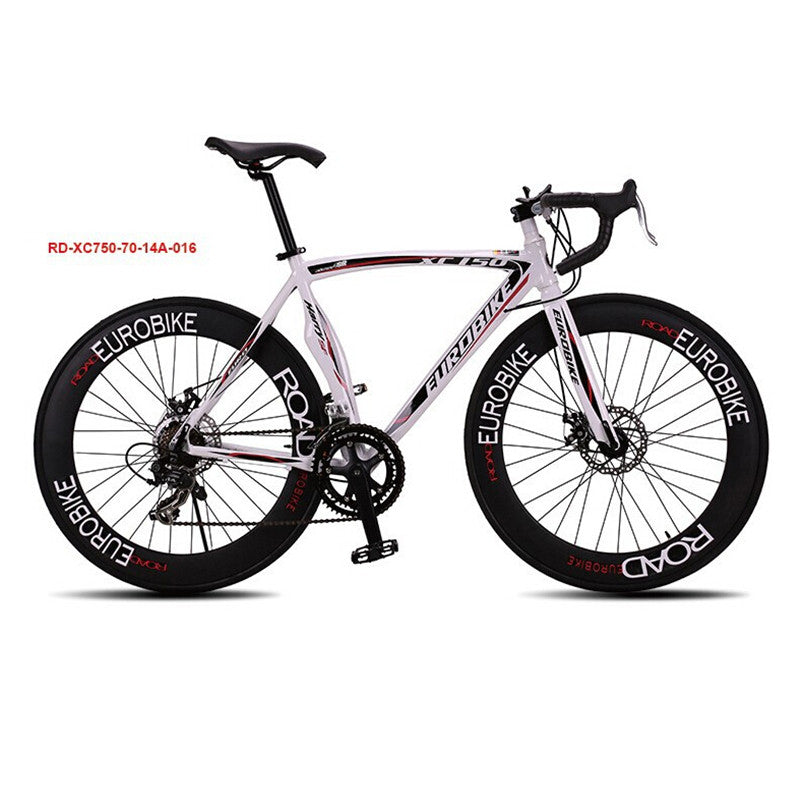 Bicicleta Speed 14 Road Bike 6061 Aluminum Alloy Frame 700C X 23C Wheel Bicicleta Disc Brake Road Bicycle 70 Spokes Flat Tire