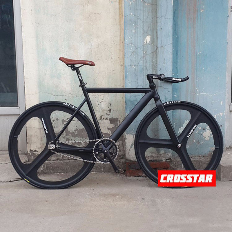 1 piece fixie Bicycle Fixed gear bike 53cm 55cm 58cm DIY Muscular frame Complete Road Bike Aluminum Alloy 700C  frame