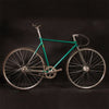 fixie Bicycle Fixed gear bike 700C 52cm 54cm 56cm vintage  Promotion Diy Complete Road Bike, student Bicycle green frameType