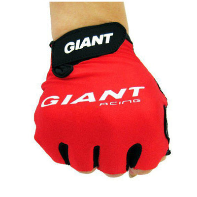 Giant Cycling Gloves Bicycle Sports Half Finger Gloves Shock Absorption Bicycle Gloves Men Women Road Motocross Gloves Plus Size
