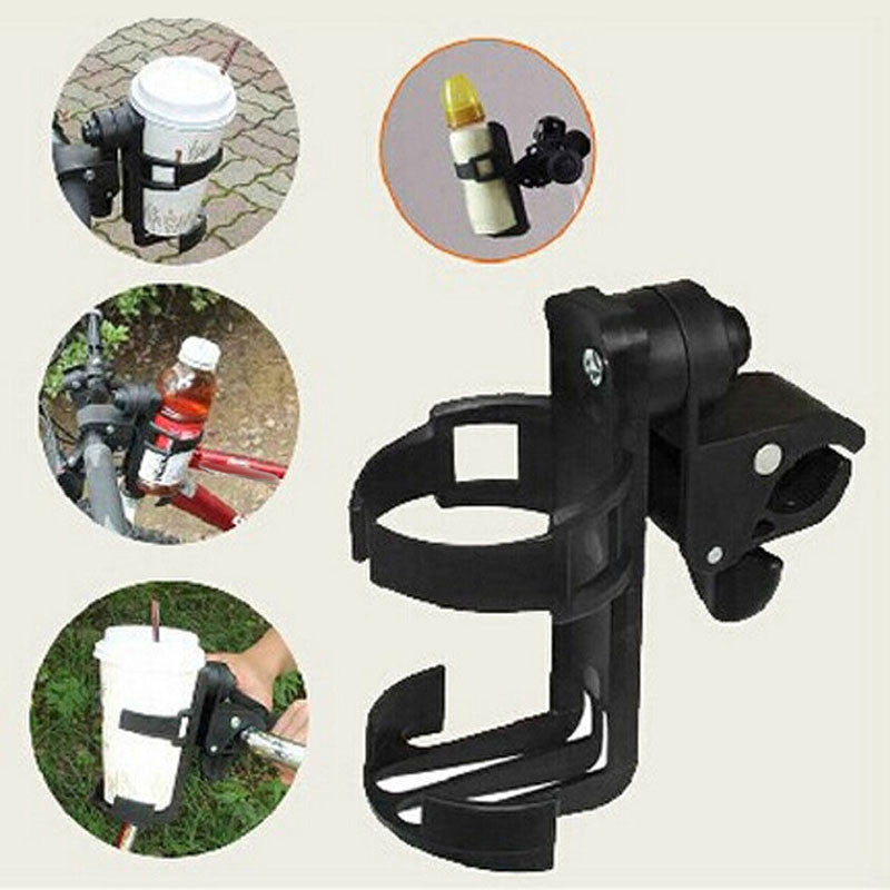 Baby Stroller Accessory Baby Infant Stroller Bicycle Carriage Cart Accessory Bottle Cup Holder Adjustable 360Degree Roating