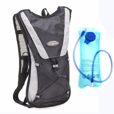GESS 2L TPU Water Bag bladder Hydration outdoor sport bag Bicycle Camping Hiking Climbing Outdoor Camelback black GESS-WBP1-BK