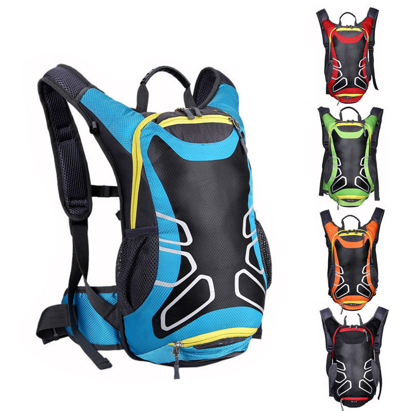 Cycling Backpack MTB Nylon Rainproof 15L Bicycle Water Bag Outdoors Sport Backpacks Bike Bicycle Cycling Bag Bolsa Bicicleta