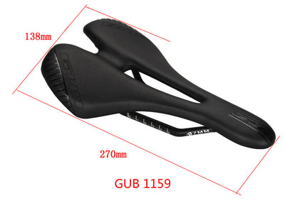 free shipping NEW GUB1152/1156 super light weight 130g bicycle carbon hollow saddle leather saddle bicycle seat mtb road parts