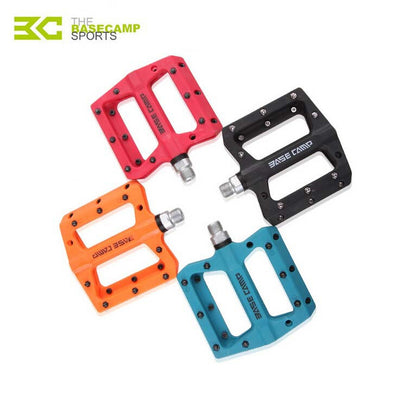 Brand BaseCamp new cycling bike pedals colorful nylon fiber bicycle mtb bicicleta pedales bicycle parts riding road bike pedal