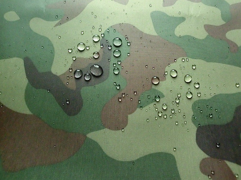 wide 150cm Oxford cloth camouflage printed silver waterproof fabrics outdoor tents, awning, carport, clothing fabrics 029