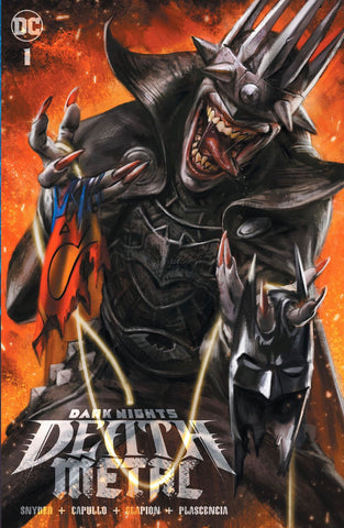 DARK KNIGHTS DEATH METAL #1 IAN MACDONALD VARIANT