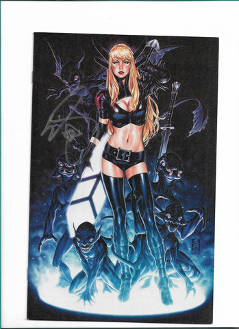NEW MUTANTS DEAD SOULS #1 MARK BROOKS SIGNED VIRGIN COVER