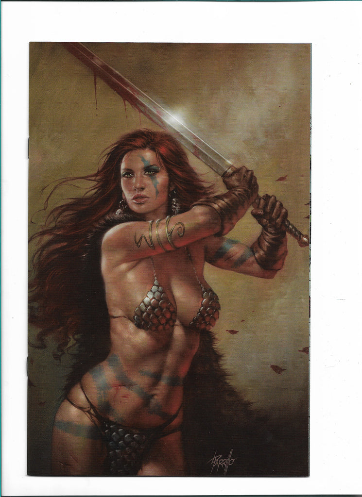 RED SONJA #20 LUCIO PARRILLO VIRGIN NYCC 2018 VARIANT LIMITED TO 500