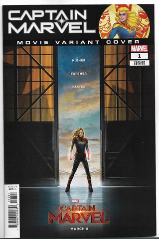 CAPTAIN MARVEL #1 1:10 MOVIE VARIANT