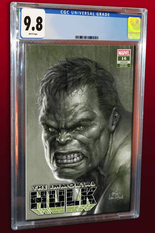 IMMORTAL HULK #16 IN HYUK LEE AUTHENTIC SKETCH VARIANT LIMITED TO 500 COPIES CGC 9.8 PREORDER