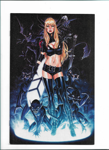 NEW MUTANTS DEAD SOULS #1 MARK BROOKS VIRGIN COVER