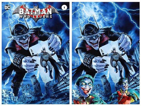 BATMAN WHO LAUGHS #1 MIKE MAYHEW MODERN TRADE/VIRGIN VARIANT SET LIMITED TO 700 SETS