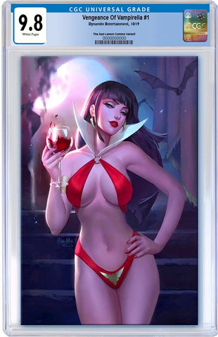 VENGEANCE OF VAMPIRELLA #1 ULA MOSS VIRGIN VARIANT LIMITED TO 500 COPIES CGC 9.8 PREORDER