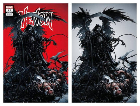 VENOM #12 CLAYTON CRAIN TRADE DRESS/VIRGIN SET LIMITED TO 1000 SETS