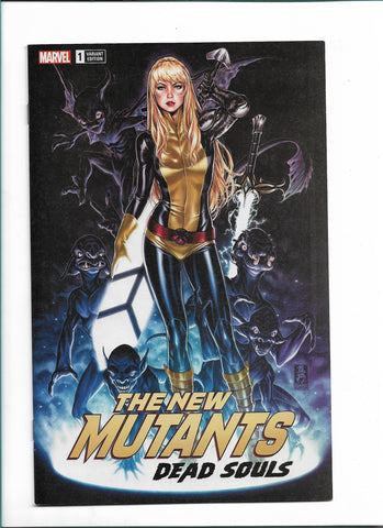 NEW MUTANTS DEAD SOULS #1 MARK BROOKS TRADE DRESS COVER