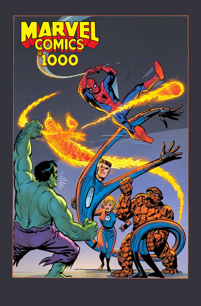 MARVEL COMICS #1000 1:100 DITKO HIDDEN GEM VAR